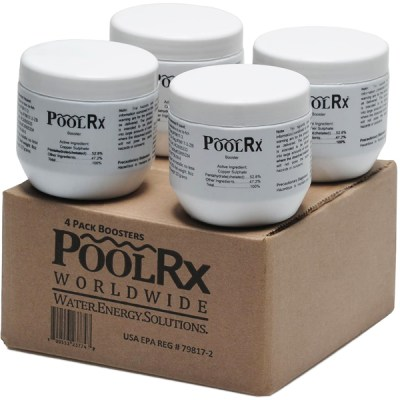 PoolRx Up to 20K Pools Booster - 4 Pack