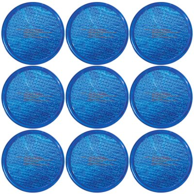 Solar Sun Rings Plain Blue Water Anchors 5ft. OD SSRA-101  - 12 Pack