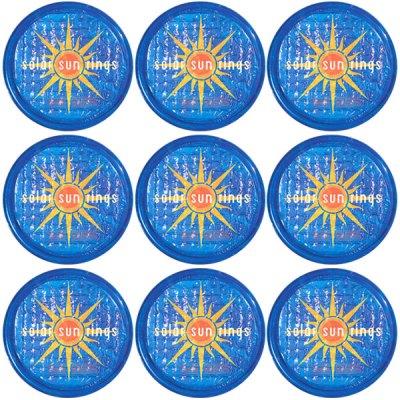 Solar Sun Rings Sunburst Water Anchors 5ft. OD SSRA-SB-02 - 12 Pack