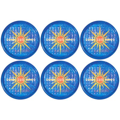 Solar Sun Rings Sunburst Water Anchors 5ft. OD SSRA-SB-02 - 6 Pack