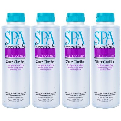 Spa Essentials Hot Tub Water Clarifier 32612000 - 4 Pack
