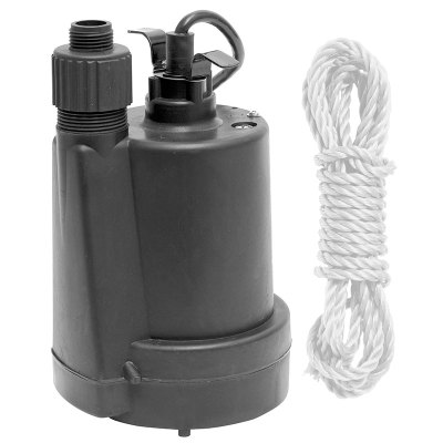 Superior 1/5 HP Submersible Pool Water Drain Pump 91029