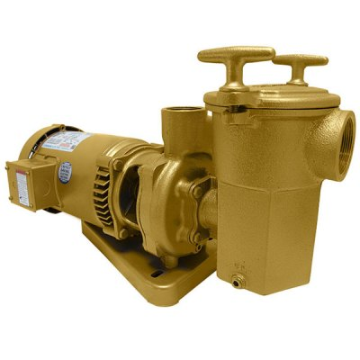 Swimming Pool Spa Aqua-Flo A-Series Brass Pump 1/2 HP 3PH 11505000
