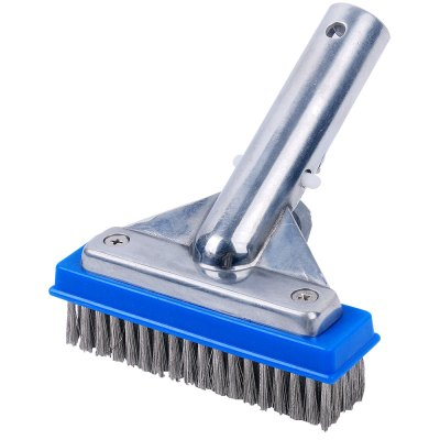 Swimming Pool Stainless Steel Bristles Algae Brush 5 inches 11020