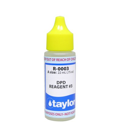 Taylor Dropper Bottle 0.75 oz DPD Reagent #3 R-0003-A