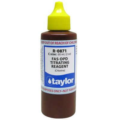 Taylor Dropper Bottle 2 oz FAS-DPD Titrating Reagent R-0871-C