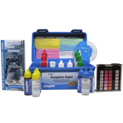 Taylor Technologies Pool & Spa Water Complete Test Kit K-2005