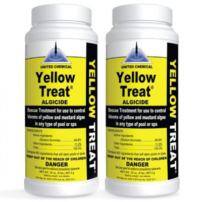 United Chemical Yellow Treat Algaecide 2lb. YT-C12 - 2 Pack