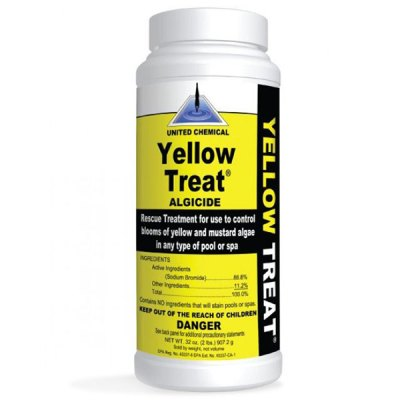 United Chemical Yellow Treat Algaecide 2lb. YT-C12