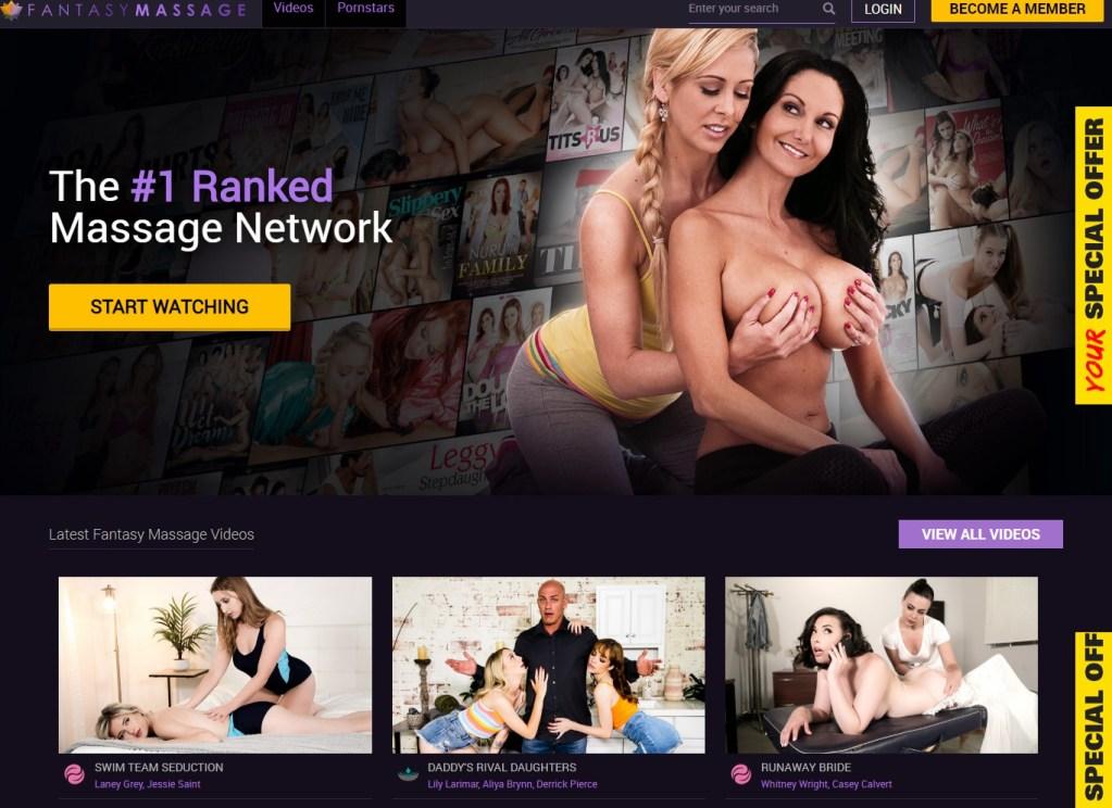 FantasyMassage - Best Premium Massage Sites