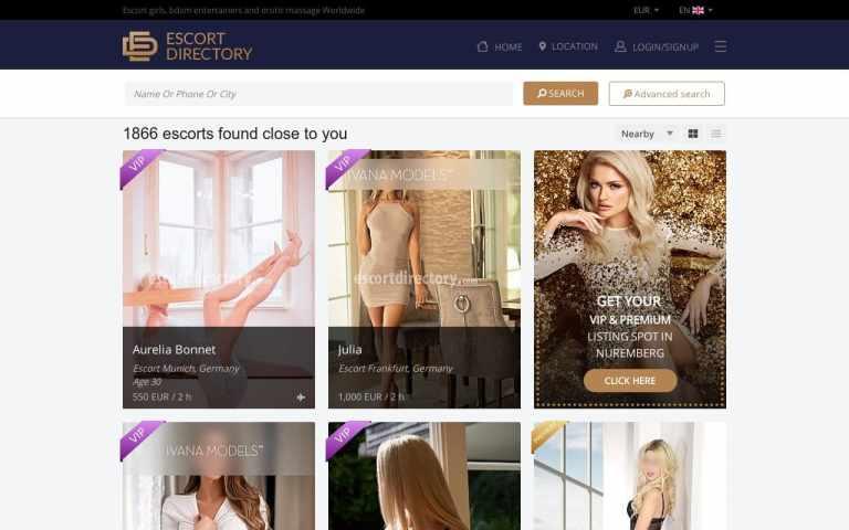 Escort Directory - Best
