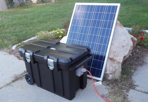 5000 Watt 200AH Solar Generator