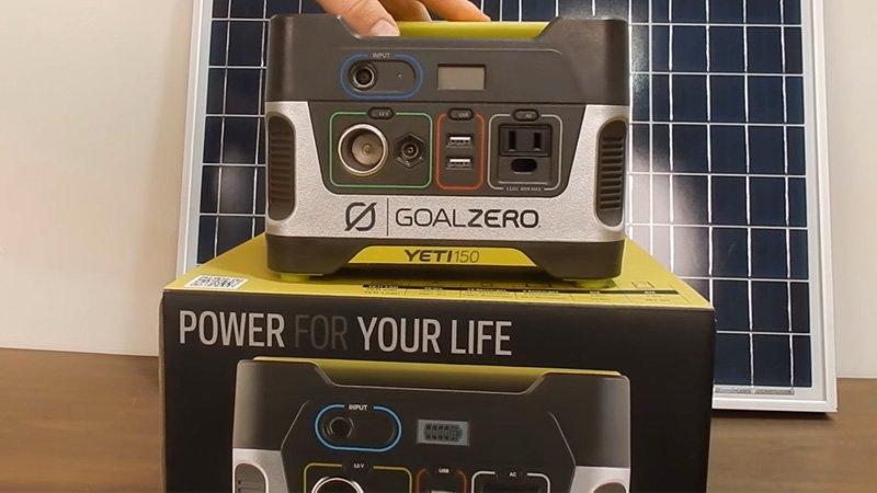 Yeti 150 Solar Generator