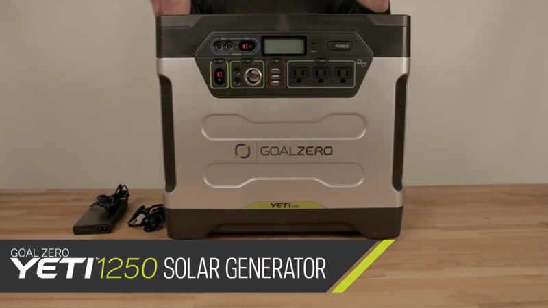 Goal Zero Yeti 1250 Solar Generator Kit All to Know About