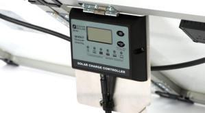 Zamp Solar portable solar kit charge controller