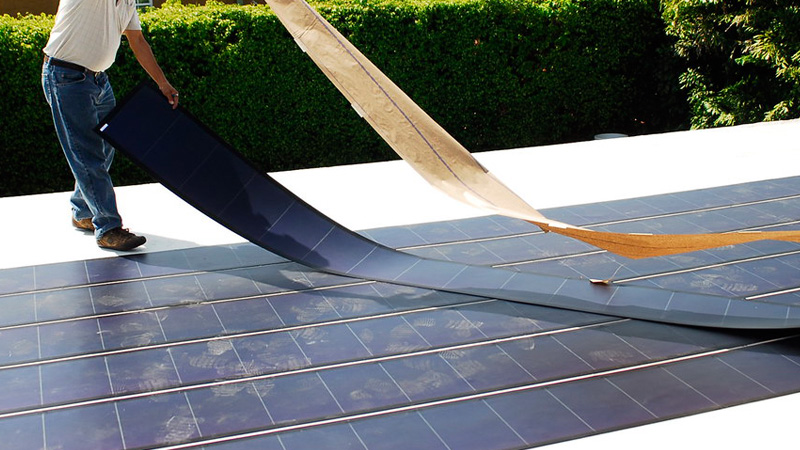 Flexible Portable Solar Panels