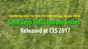 Goal Zero Yeti Lithium