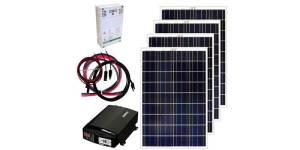 grape solar 400w off-grid solar kit