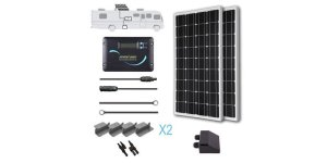 renogy 200w solar kit with adventurer charge controller