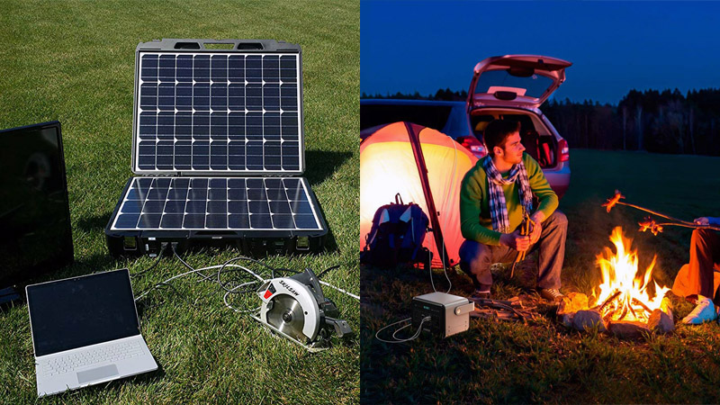Best Portable Solar Generators for Camping Online
