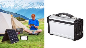 Suaoki Portable Solar Generator 222Wh