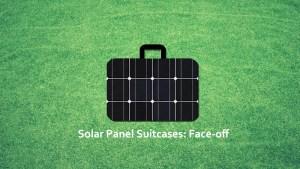 Solar Panel Suitcase