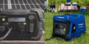 Solar Generator Vs Gas Generator