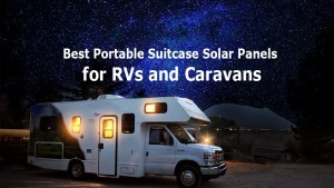 Briefcase Solar Panels for Caravans, RVs, and Trailers