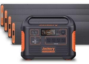 Jackery Explorer 2000 Solar Generator