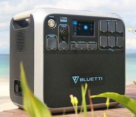 MaxOak-Bluetti-AC200-Solar-Power-Station