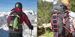 Sunslice Solar Charger: Lightweight, Handy, and Super Compact Portable Solar Charger