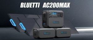 Bluetti AC200 Max: Expandable Variant to Bluetti AC200 That Can Max Up to 8192Wh