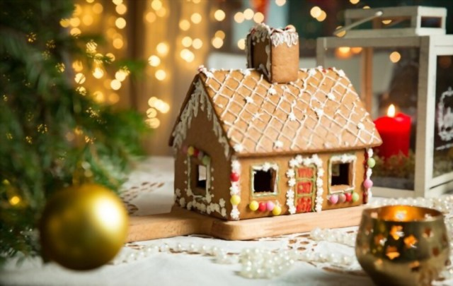 A Gingerbread House Is Also A Gingerbread Man's House