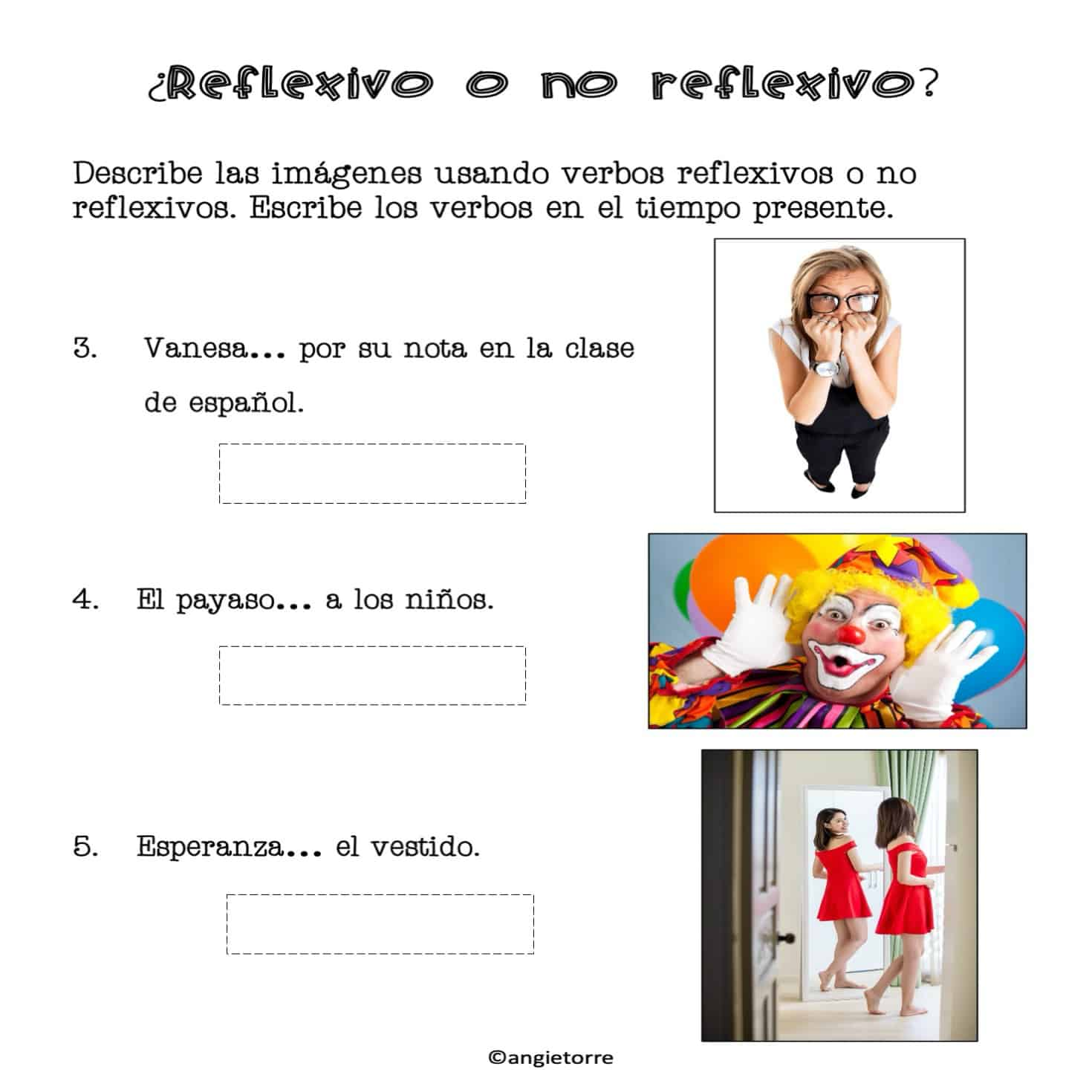 Spanish Reflexive Verbs And Daily Routine Drive