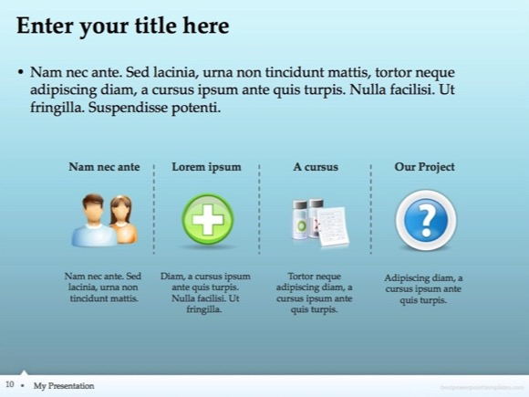 Nursing Powerpoint Templates Free Powerpoint Template