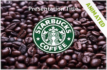 Starbucks PowerPoint Template