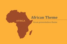 Africa PowerPoint Template - FREE