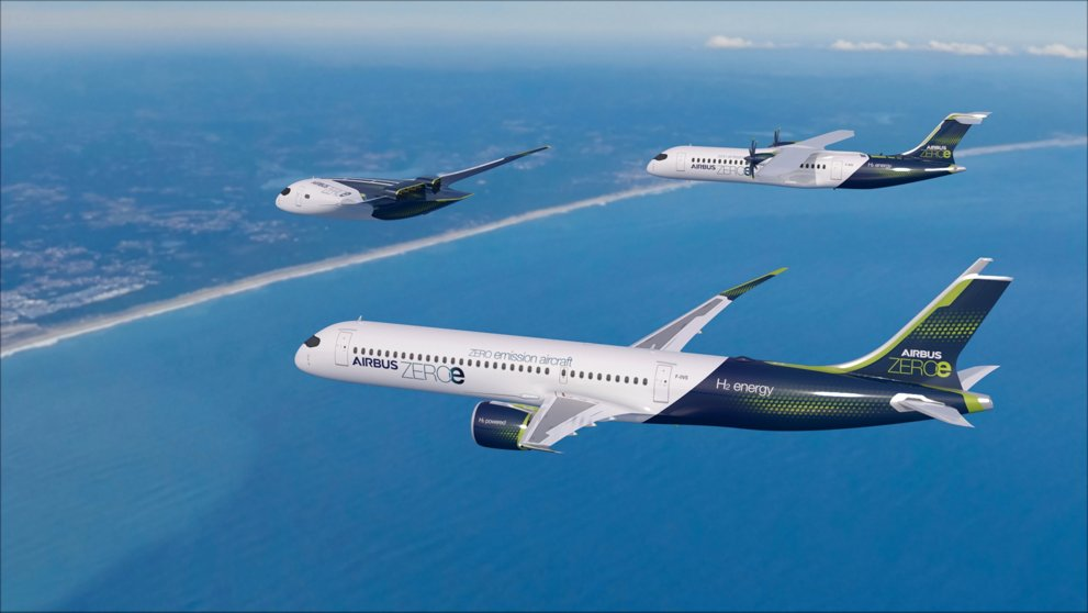 Airbus Announces Plans for Hydrogen-Powered Planes