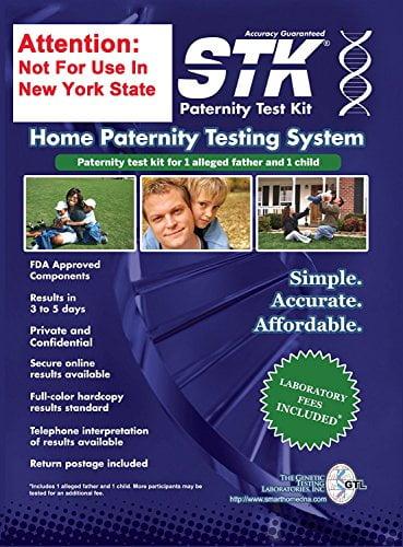 51XjX52lZLL - STK Paternity Test Kit - Includes All Lab Fees