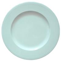 White-Rimmed Dinner Plates 27 cm.