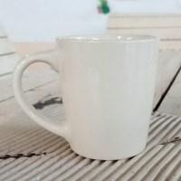 แก้วกาแฟ 250 cc. สีครีม