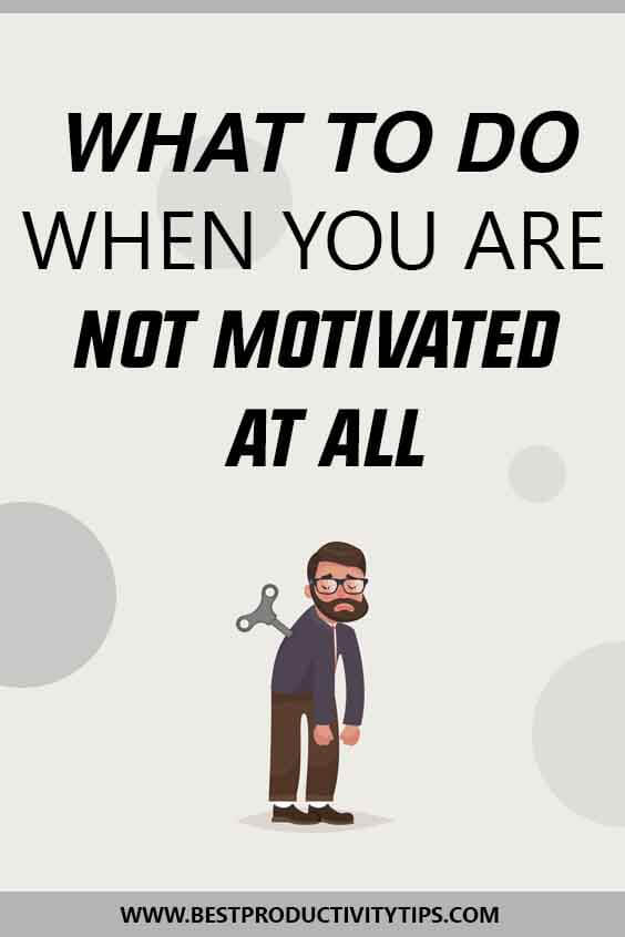 What to do when you are not motivated? In this post, I'm going to share with you very powerful ideas to motivate yourself again to acheive your goals.