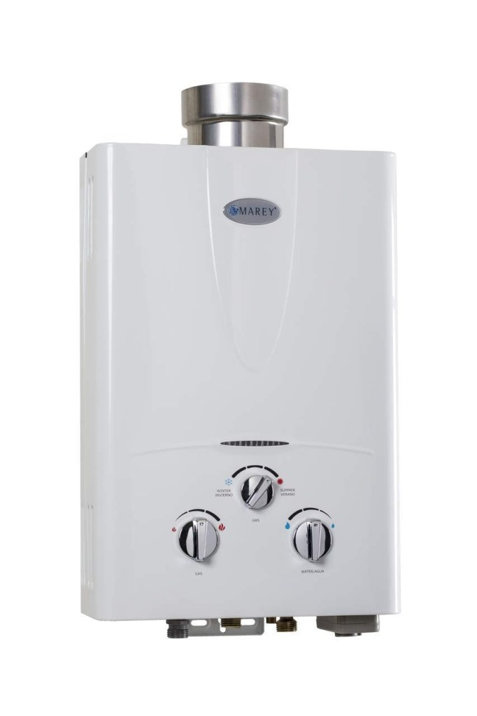 MAREY Gas 5L Tankless Water Heater