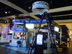 Absolute ID Installing a Trade Show Exhibit