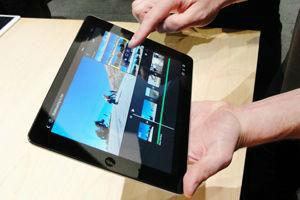 An app to assistance blind form fast on iPad