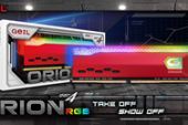 GeIL Announces the Availability of ORION RGB Gaming Memory, Ready for AMD RYZEN™ 5000 Series Desktop Processors