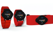Myzone's new heart rate tracker that can be worn three different ways