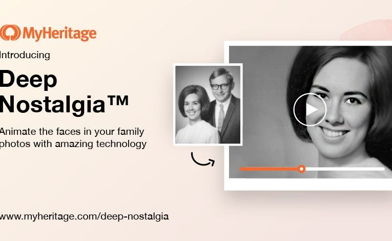How to bring old photos to life using MyHeritage's Deep Nostalgia