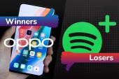 Oppo's hidden camera and Spotify's abysmal new tier