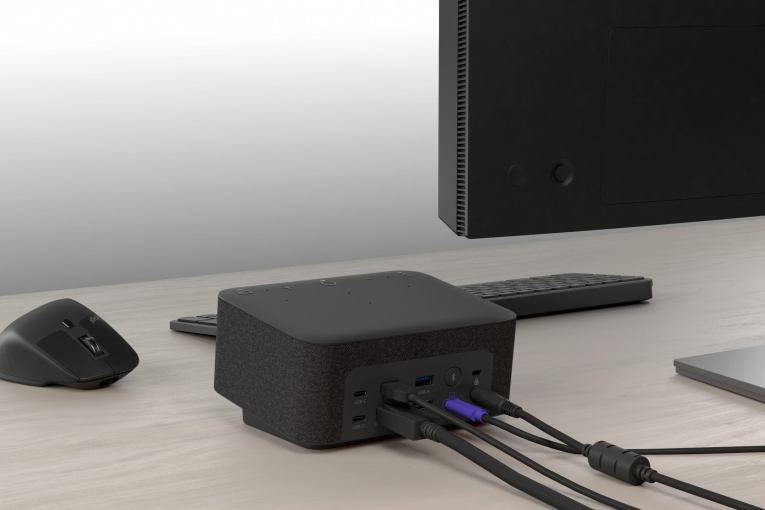 Logitech is introducing the all-in-one Logi Dock